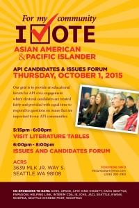 API Candidates & Issues Forum