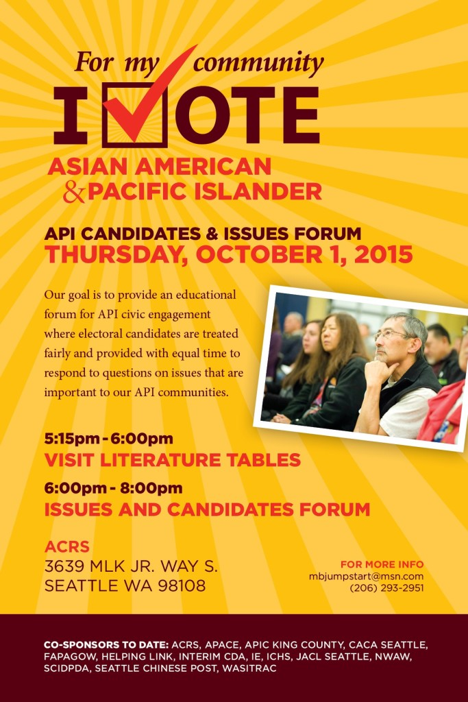 API Candidates & Issues Forum