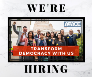 NOW HIRING: Full-Time Community Organizer